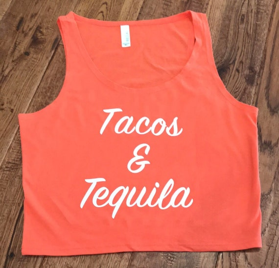d588bd53fb008 Summer Collection Tacos   Tequila Crop Top Womens Crop