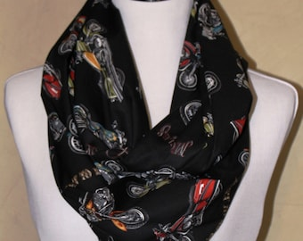 Motorcycle Infinity Scarf