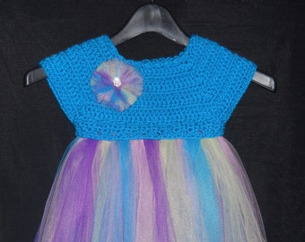 Girl's Fairy Princess Tutu Dress - Size 3T to 4T