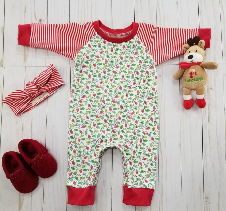 d852dcdb7e Coming Home Outfit Holiday Baby Pajamas Organic Baby Clothes