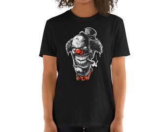 Clown Short-Sleeve Unisex T-Shirt c04bd5362
