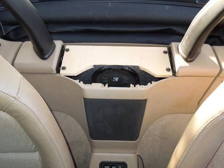 Custom 6 5 Shallow Mount Subwoofer Enclosure For Bmw Z3 Etsy