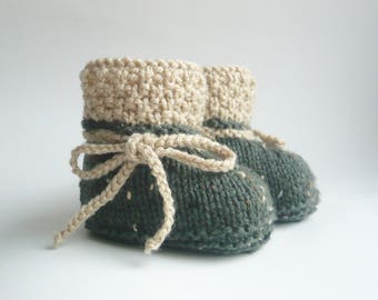 Baby Shoes Knitted Baby Boots