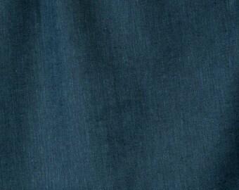 Linen Fabric | Linen Material | Woven Fabric | Natural Fabric | Linen | Linen Fabric For Clothing | Linen | Fabric By The Yard | Blue Linen