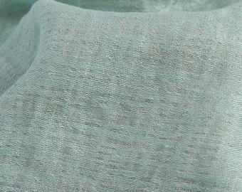 Washed Linen Fabric | Green Fabric | 100% Linen Fabric | Flax Fabric | Linen Cloth | Linen Material | Linen Fabric | Fabric | Soft Linen