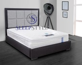 6FT Superking Halo Bed Frame  Available In Over 32 Fabric Choices  Double Kingsize Superking