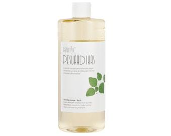 Laundry vinegar with birch essential oil. Pesuäädikas kase eeterliku õliga.