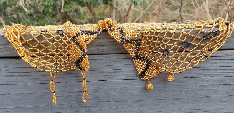 Gold /& Black Body Necklace