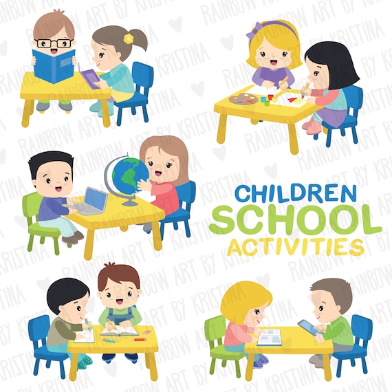 Free Children In School Clipart   Free Images at Clker.com - vector clip art  online, royalty free & public domain