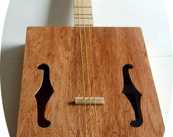 3-String guitar box