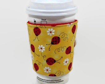 cup cozy, coffee sleeve, cup sleeve, gift for her, mom gift, Mothers Day Gift, coffee cup sleeve, reusable coffee sleeve, birthday gift