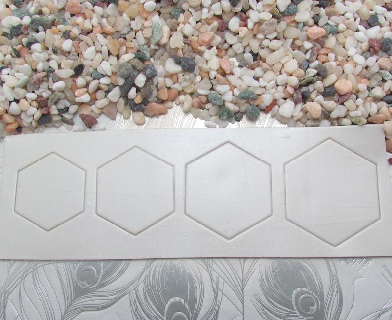 Hexagon Polymer Clay Cutters Set