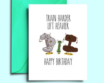 Gym birthday card etsy printable crossfit birthday card for workout fitness girlfriend weight lifter personal trainer instructor personalized greeting boyfriend m4hsunfo