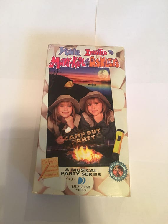 Mary Kate And Ashley Vhs You Re Invited To Mary Kate And Etsy