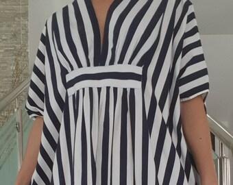 Cotton kaftan  maxi dress caftan