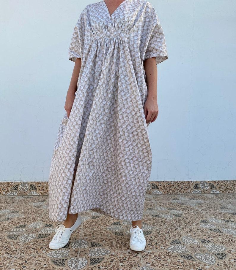 Kaftan Dress-Kaftan Moroccan Kaftans for women-One size-Caftan for Woman