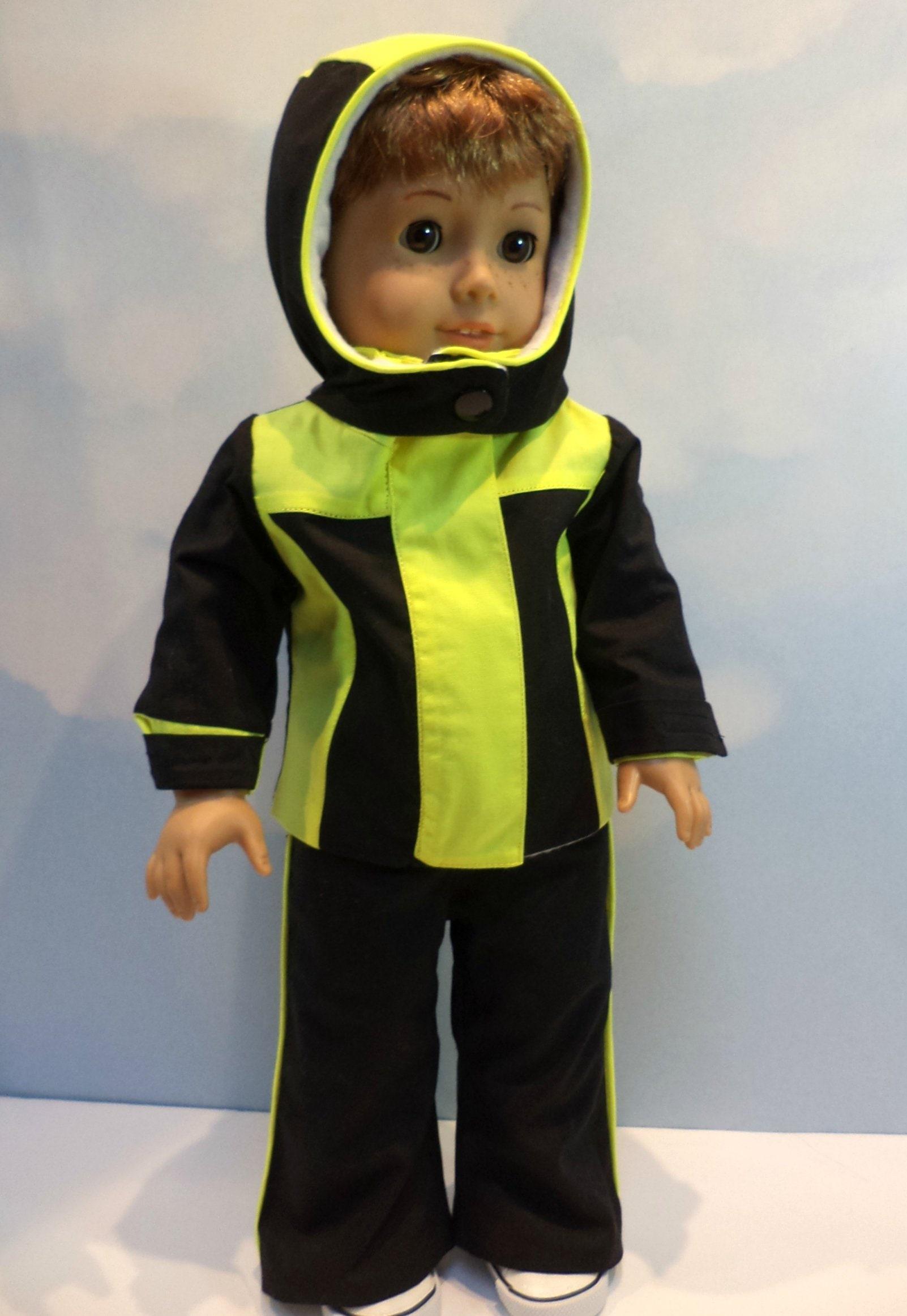 e36b82e34c7f 3 Piece Ski Snow Suit for 18 Inch Boy Dolls Such as American