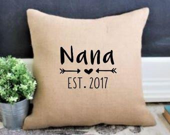 Nana Birthday Gift For Christmas Grandma Grandmas Mothers Day Gifts Pregnancy Announcement