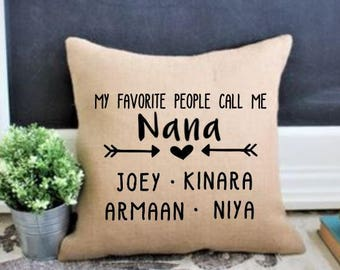 My Favorite People Call Me Nana Birthday Gift For Christmas Grandma Grandmas Mothers Day Gifts