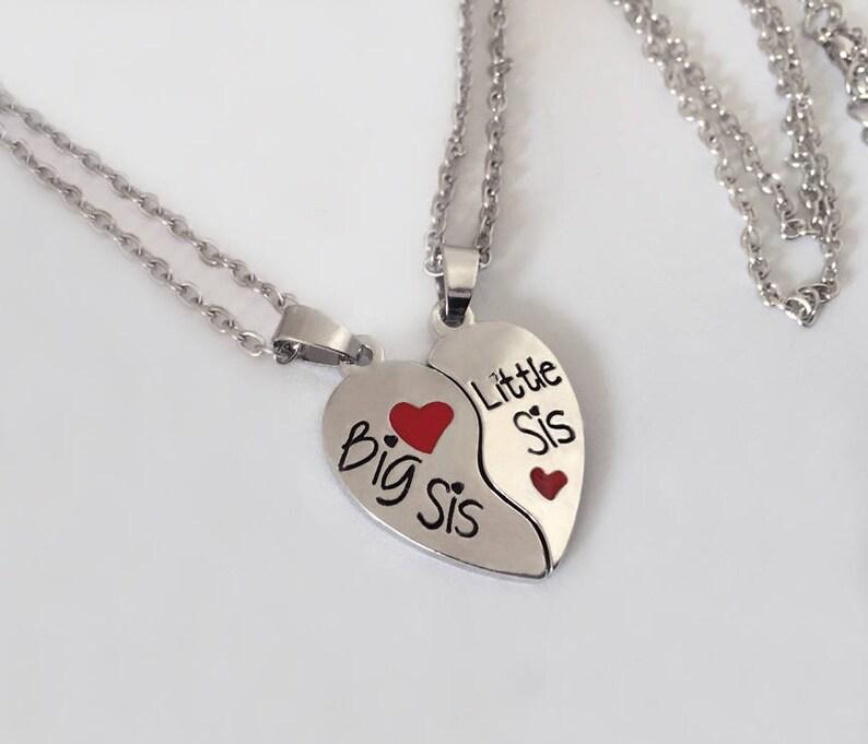 2aebe2c5b06251 Siostra biżuteria Siostra prezent serce siostra biżuteria | Etsy