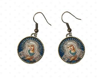 Religious theme, communion, new earrings