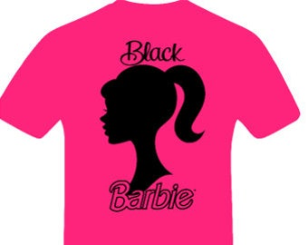 Black Barbie shirt