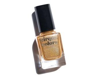 24K Affair - Yellow Gold Metallic Holographic Nail Polish