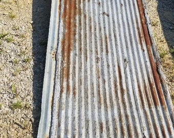 Reclaimed Corrugated Barn Roofing