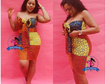 39902c0bb Sexy african print dress,african clothing for women,african party dress,sexy  ankara dress,short African dress,birthday dress,colourful print