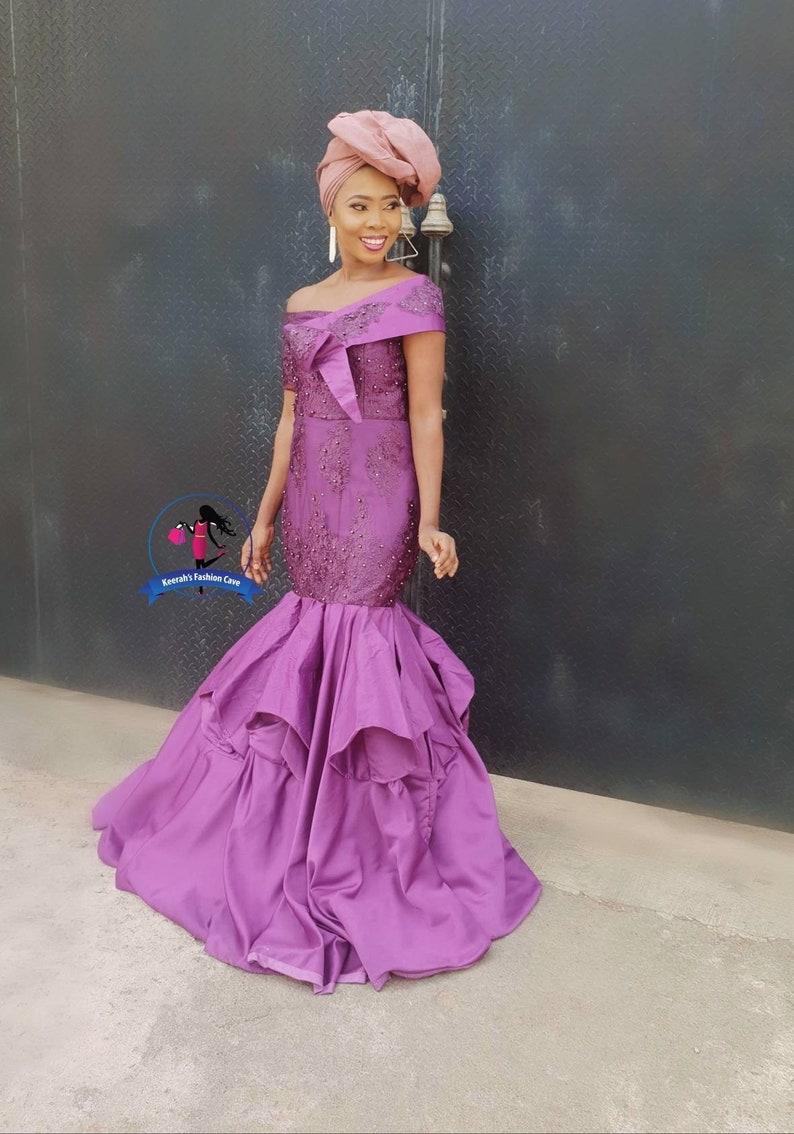 a0587461f86 African wedding dress peagentary dress african wedding