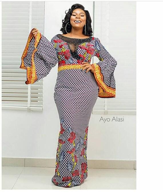 clothing dress women dress African prin dress Ankara african for african women print print for wax clothing african women party dress ankara qanw1B