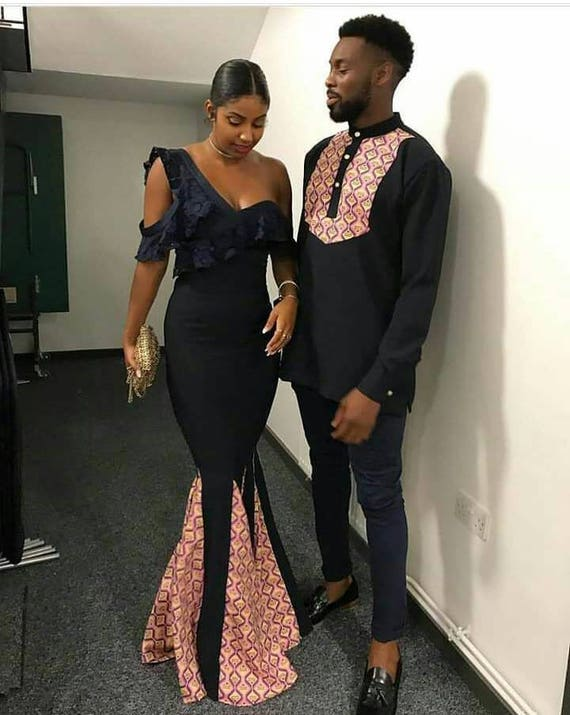 shirt african ankara matching set couple men african women couple african men dress couple clothing african clothing outfit dress African qv0nOwAF