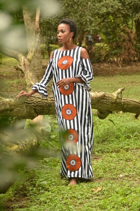 Appliqué clothing african dress African dress fashion Applique dress ankara Chiffon designs african African Circle clothing ankara n6IRqPwwx