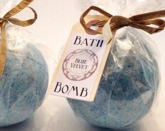 Blue Velvet Artisanal Bath Bomb