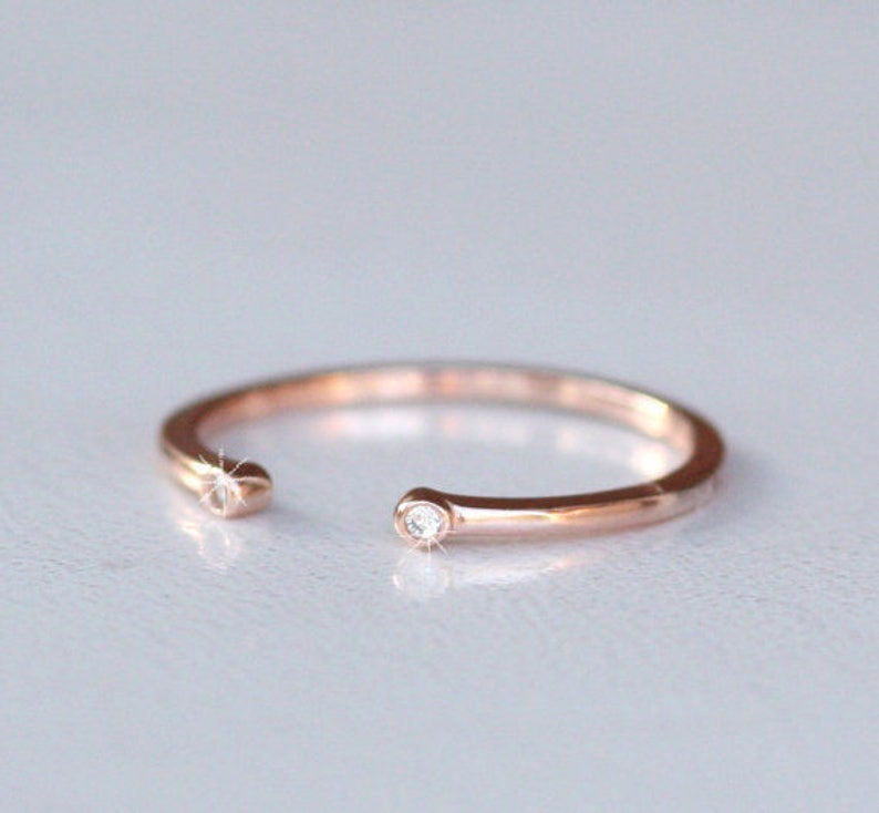 stacking ring set stackable stackable gold rings stackable ring gold stackable ring for women Stackable open cuff ring