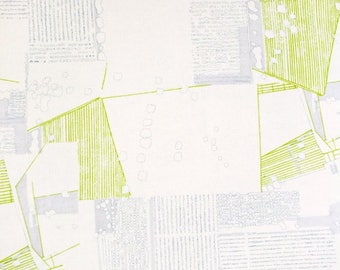 Blueprint fabric etsy carolyn friedlander aerial in silver friedlander collection for robert kaufman ivory and gray fabric cream lime green blueprint fabric malvernweather Choice Image