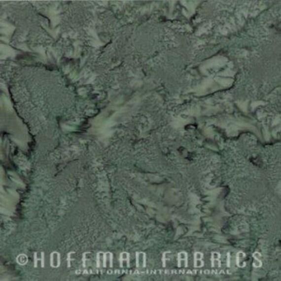 Hoffman 1895-426 Oregano Hand Dyed Watercolor Batik Priced Per ½ Yard