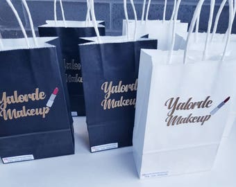 Custom Paper Bags Favor Gift Party Customized Favors
