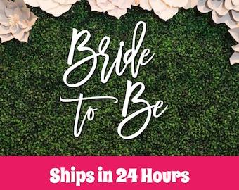 Bride to be wood sign, Wedding Bar Sign, Bridal Shower, bride to be backdrop, wedding decor, bridal shower decor, Wedding Backdrop Decor