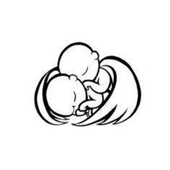 twin angel baby svg etsy Twins Movie twin angel baby svg