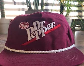 f61b58198ee Vintage Dr. Pepper Baseball Hat