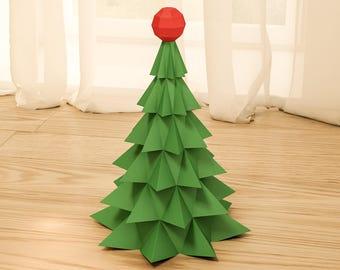 3d christmas tree | Etsy