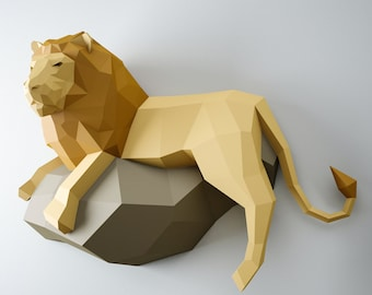 3D Papercraft for the Interior by InArtCraft on Etsy