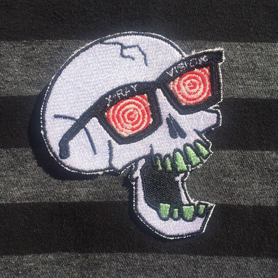 Glow in the Dark Collectible Pin Set X-Ray Heads