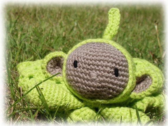 Teletubbies Dipsy Comforterlovey Crochet Pattern Etsy