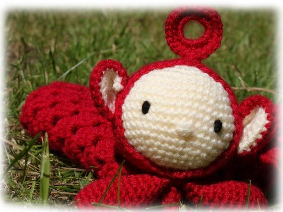 Teletubbies Po Comforterlovey Crochet Pattern Etsy