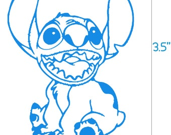 Stitch Decal (Lilo and Stitch)