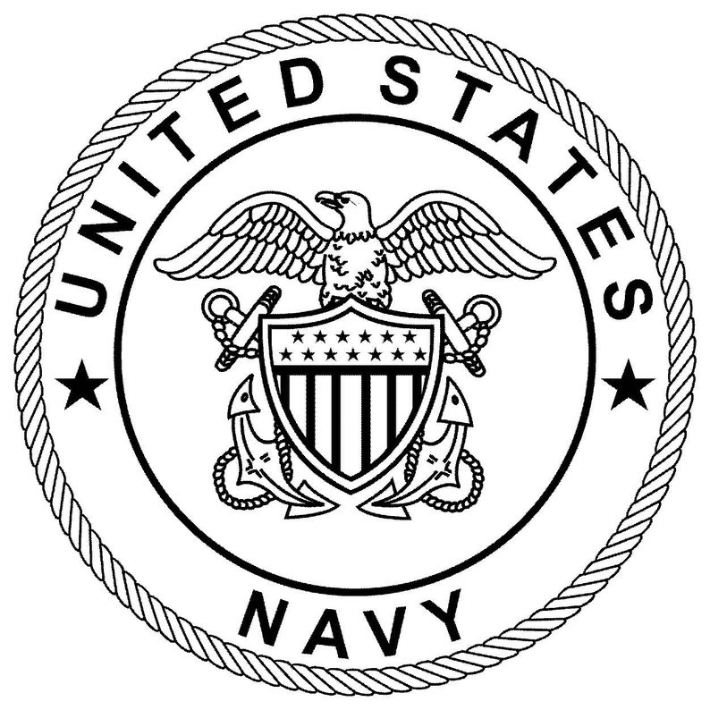 DXF us navy seal dxf file good for use on cnc machines, lasers plasma  routers vinyl cutters and water jet