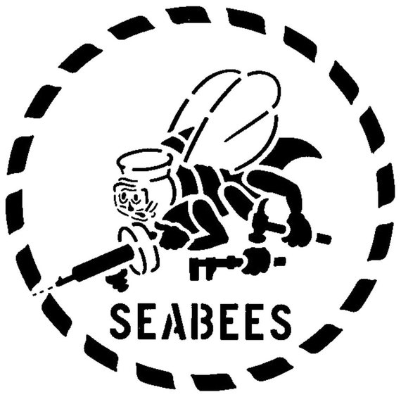 Classic Perfect Seabee Dxf Desktop Cutter Plotter File Etsy