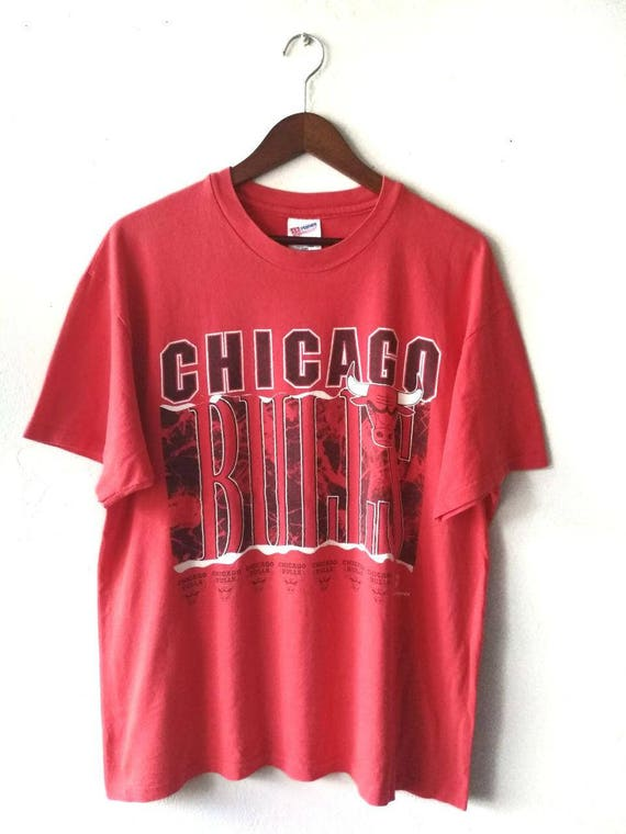 Vintage 90s Chicago Bulls NBA T-Shirt